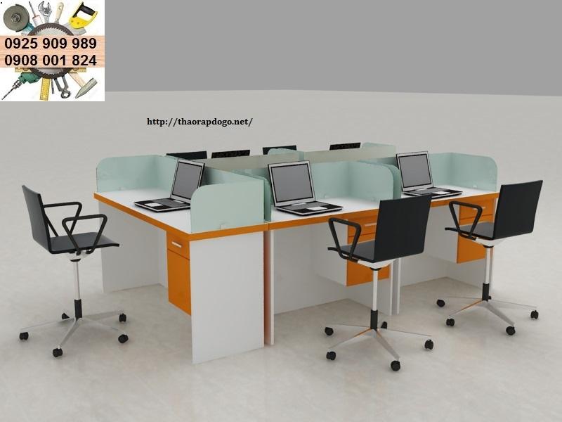 lắp ráp bàn ghế văn phòng giá rẻ quận 5 tphcm